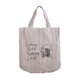 OUGHT_Nothing_More,Nothing_Less_Hobo_Tote_bag