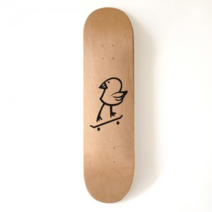 DORCUS_DISKAH_KILLY_BIRD_SKATE_DECK