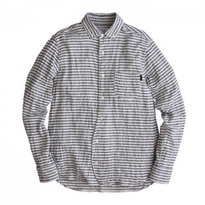 2014_fw_OUGHT_OLD_B.D._Border_Shirt_
