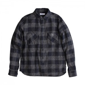 2014_FW_OUGHT_nel_check_work_shirts