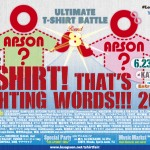 LOS APSON? presents T-SHIRT! THAT'S FIGHTING WORDS!!! 2017