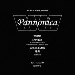 "12/22 WONK × WWW presents  "" Pannonica """
