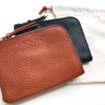 OUGHT Leather wallet & Ring belt