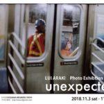 "Lui Araki photo exhibition ""unexpected """