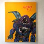 "Diskah Solo Exhibition ""HEEL"" at DIGINNER GALLERY WORKSHOP"