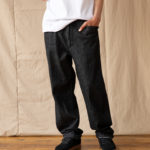 OUGHT Denim drawstring trousers