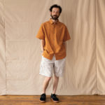 OUGHT Classic S/S shirt & 6Pocket Easy Short Pants